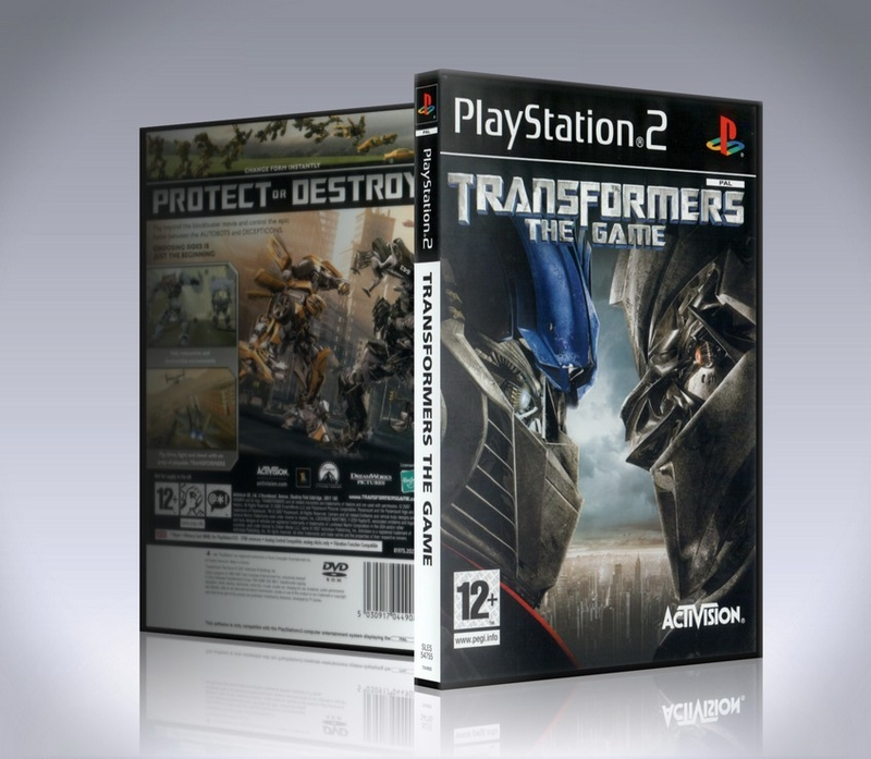 [PS2] Transformers: The Game-thumb
