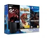 PS4 Slim 1TB (PS4 Slim) + GT Sport + Knack 2 + Uncharted: утраченное наследие-thumb