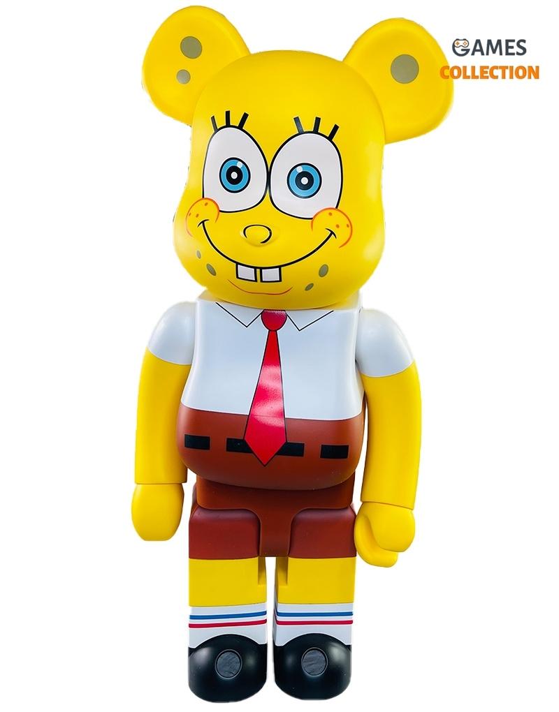 Bearbrick x Spongebob Squarepants виниловая фигурка 1000% (70см)-thumb