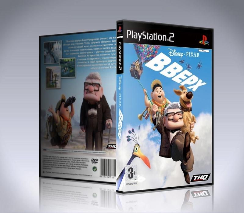 [PS2] Вверх / Disney Pixar Up: The Video Game-thumb