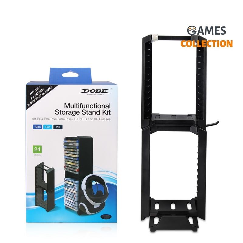 Стенд PS4/Slim/Pro + держатель дисков TP4-838-thumb