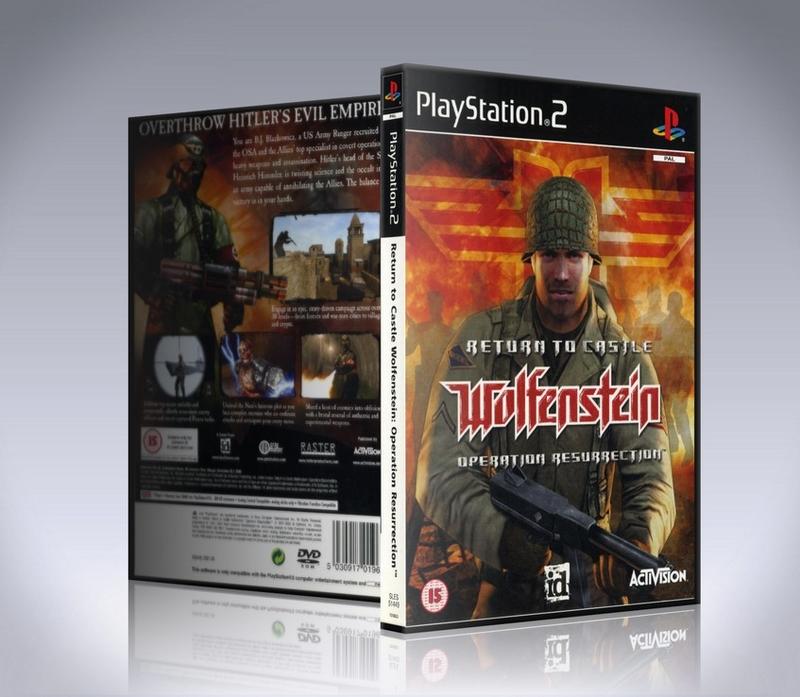 Return to Castle Wolfenstein: Operation Resurrection PS2-thumb