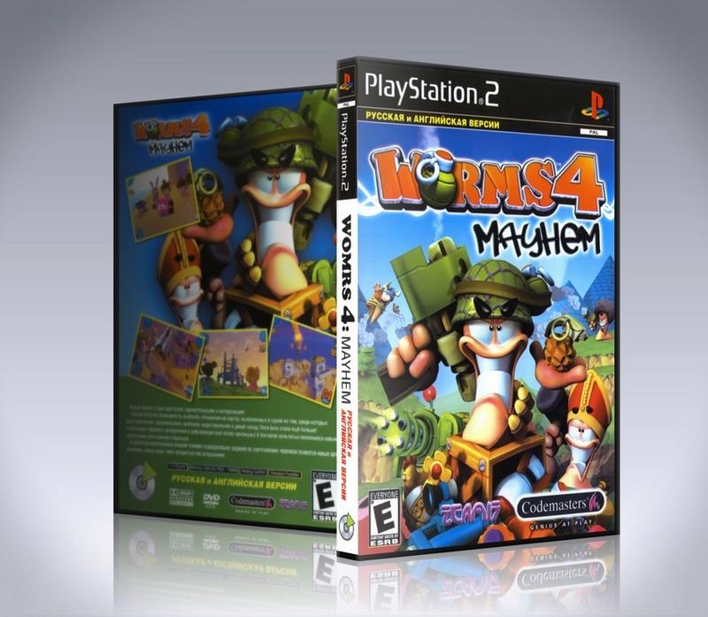 [PS2] Worms 4: Mayhem-thumb