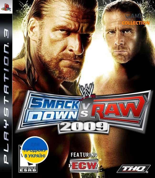 Smackdown vs Raw 2009 (PS3)-thumb