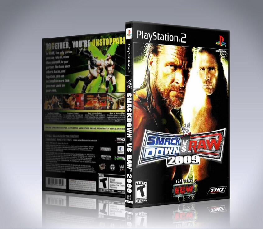 WWE SMACKDOWN VS. RAW 2009 PS2-thumb