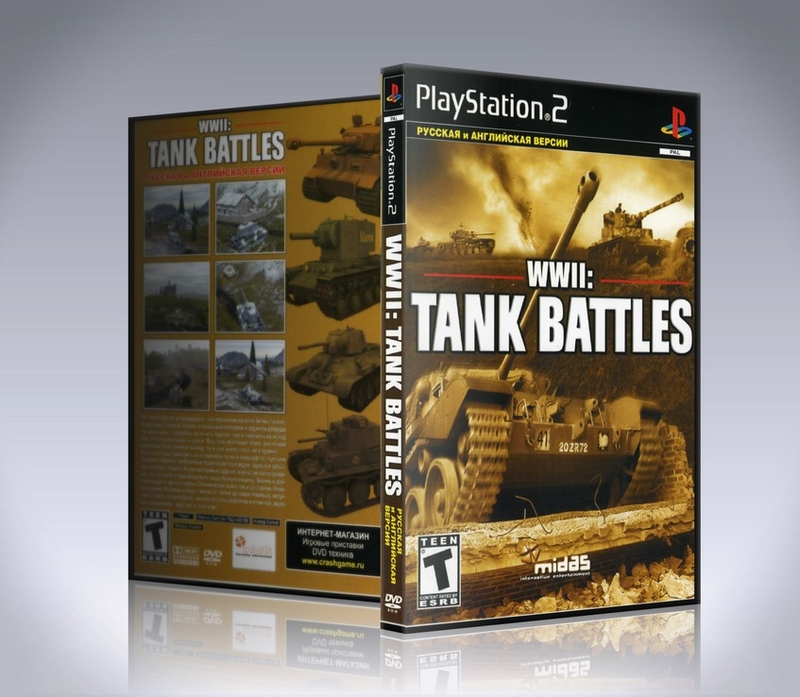 WWII: Tank Battles PS2-thumb