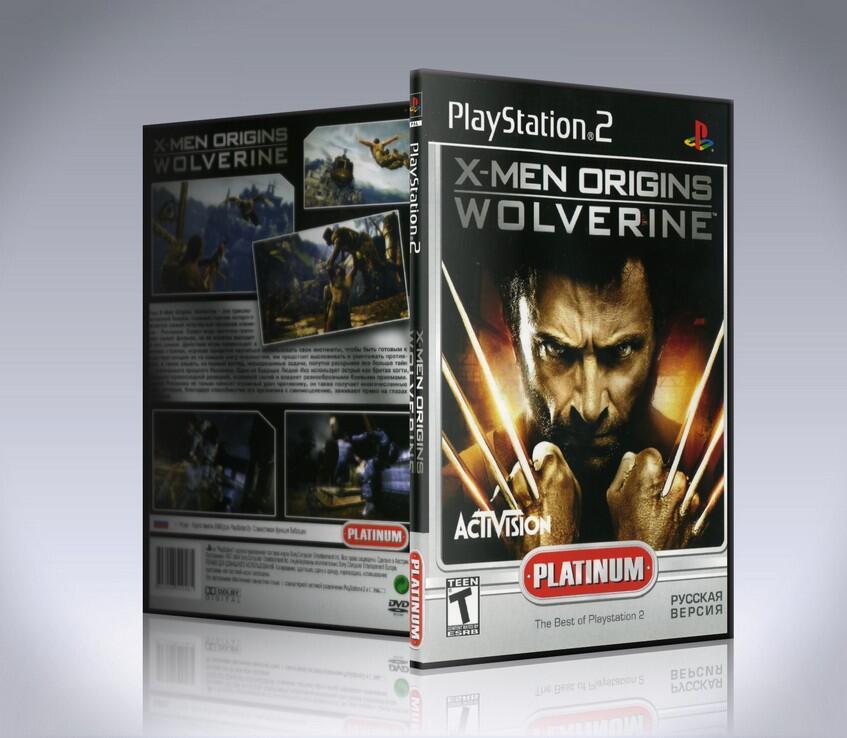[PS2] X-MEN ORIGINS: WOLVERINE-thumb