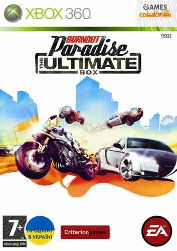 Burnout Paradise: The Ultimate Box (XBOX360)-thumb