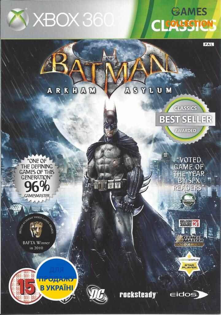 Batman: Arkham Asylum(XBOX360)-thumb