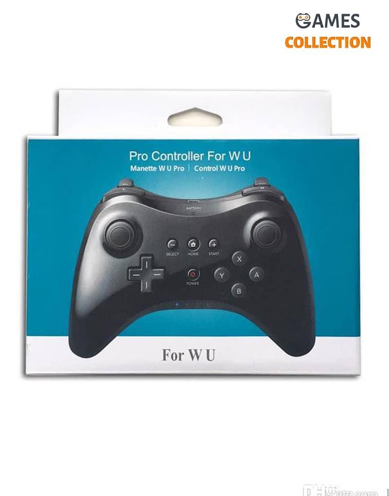 Контроллер Pro Controller для W U Bluetooth (Черный)-thumb