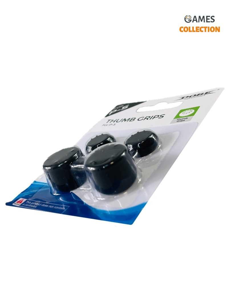 Стики накладки для джойстика PS5/PS4 Набор Черные-thumb