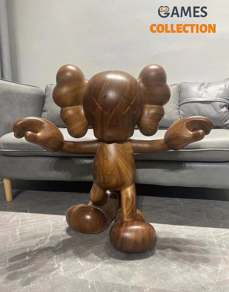 Kaws Balance Boy Деревянная Фигурка (70см)-thumb