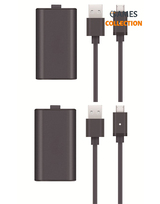 Play Charge Kit  (2 Аккумулятора 2 Провода (Xbox One S/ X / Elite/Series X )-thumb