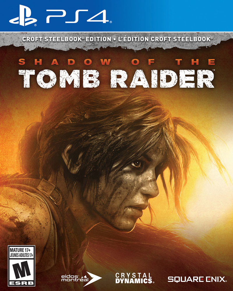 Shadow of the Tomb Raider: Croft SteelBook Edition (PS4)-thumb