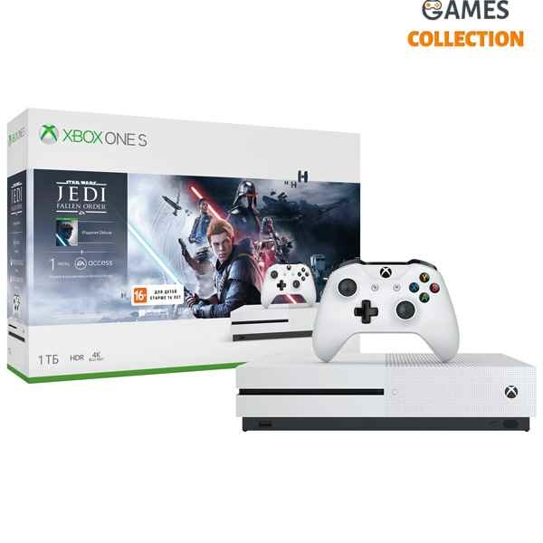 Xbox One Slim 1 TB + Jedi: Fallen Order (XBox One)-thumb