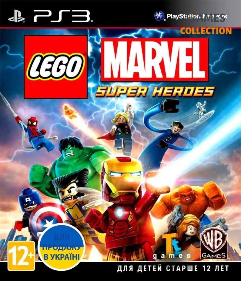 LEGO: Marvel Super Heroes (PS3)-thumb