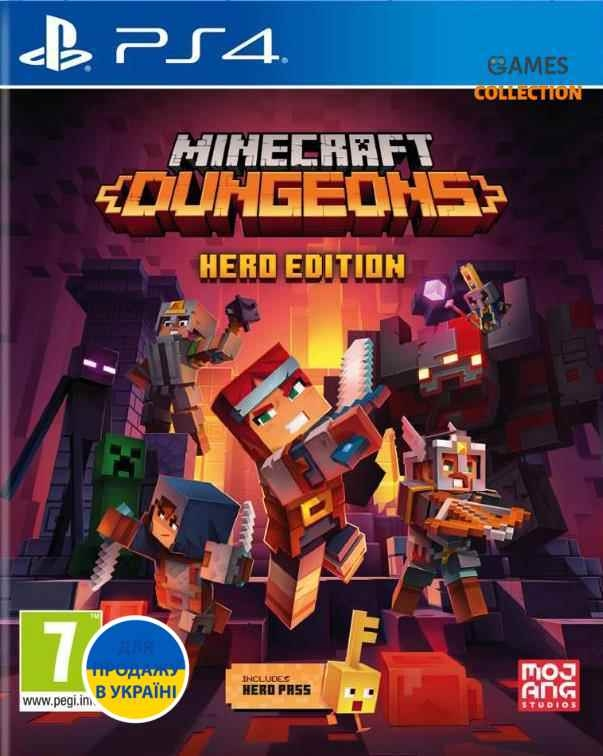 Minecraft Dungeons: Hero Edition (PS4)-thumb