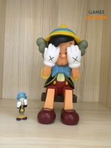 KAWS PASSING THROUGH Pinocchio & Jiminy Cricket 26см (Фигурка)-thumb