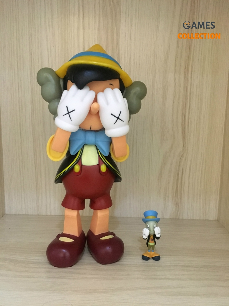 KAWS PASSING THROUGH Pinocchio Стоя 26см (Фигурка)-thumb