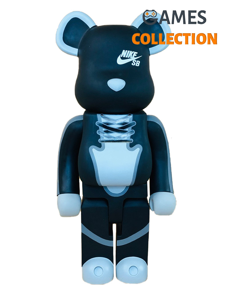 BEARBRICK NIKE SB BLACK 700% (53CM)-thumb