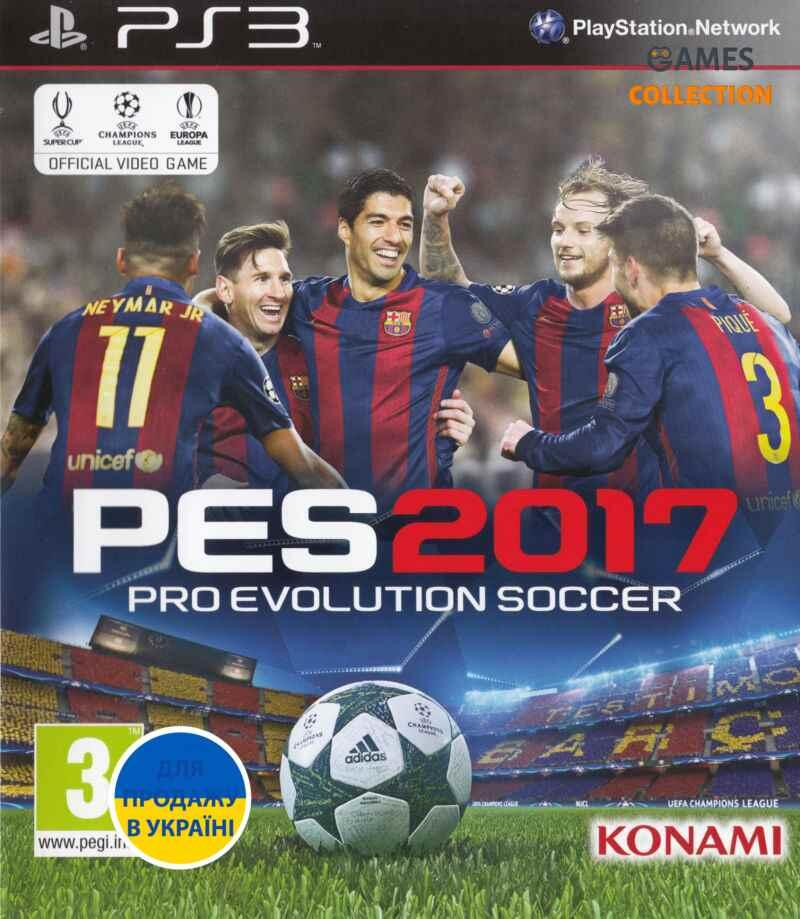 Pro Evolution Soccer (PES) 2017 (PS3)-thumb