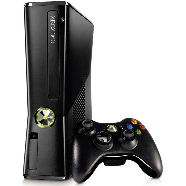 Microsoft Xbox 360 Slim 250Gb (FREEBOOT + прошивка LT+ 3.0) + игры-thumb
