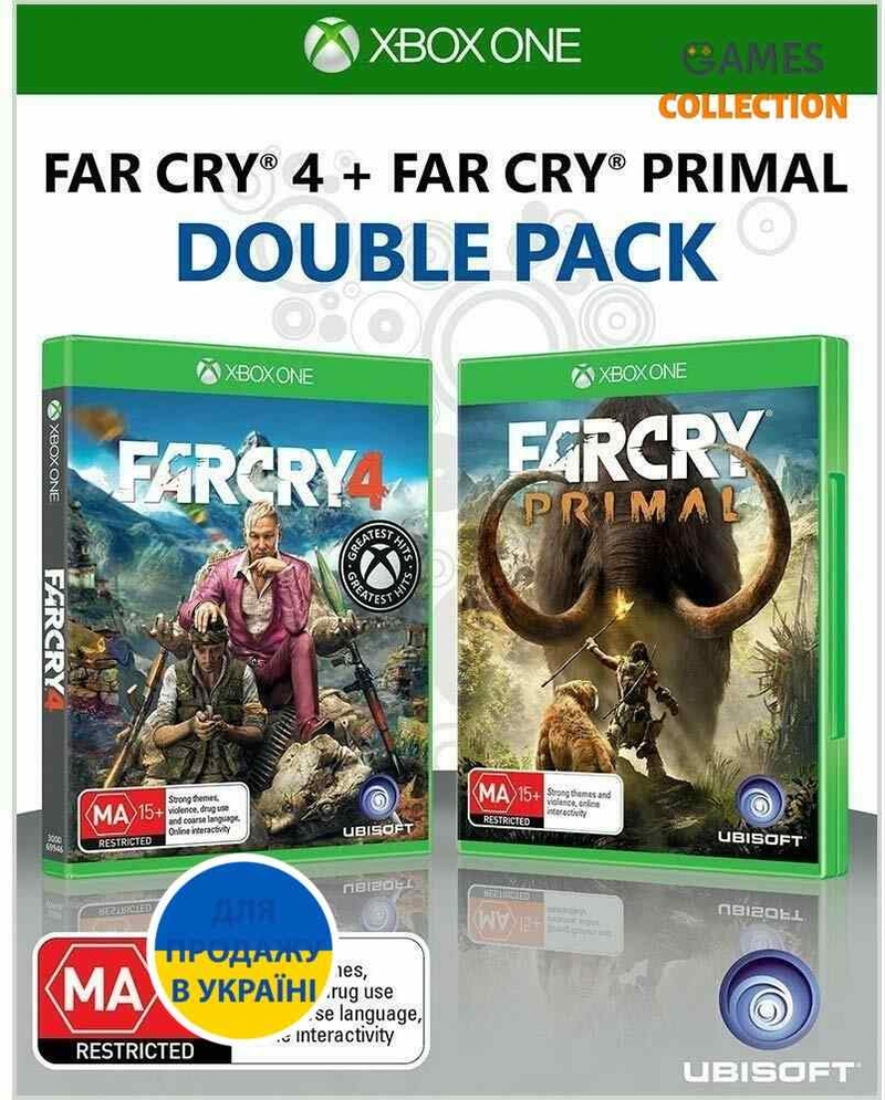 Far Cry 4 + Far Cry Primal (Xbox One)-thumb