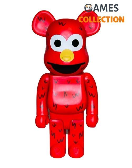 Bearbrick x Sesame Street Elmo Беарбрик x Улица Сезам 1000% (70см)-thumb