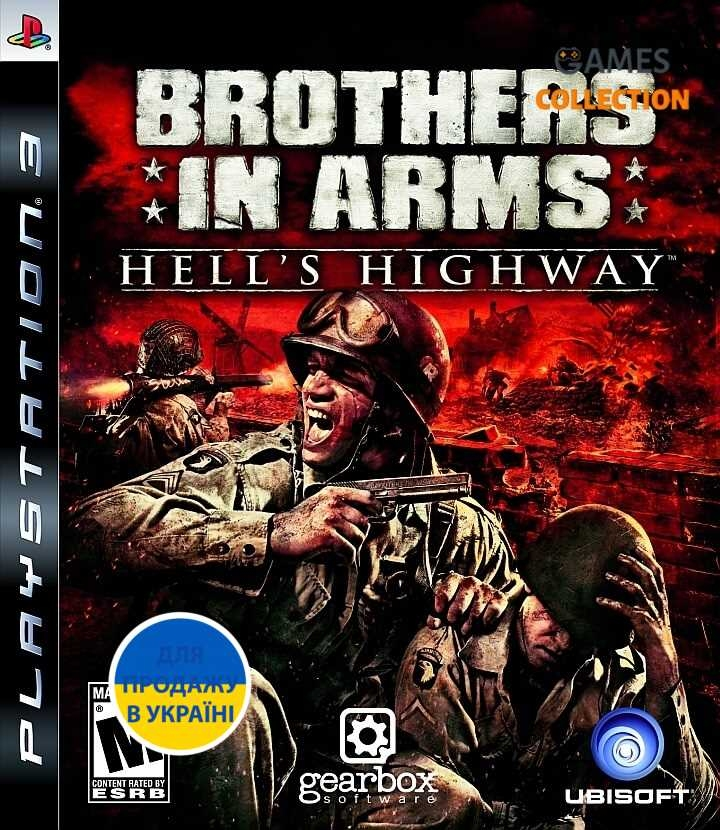 Brothers in Arms: Hell's Highway (PS3)-thumb