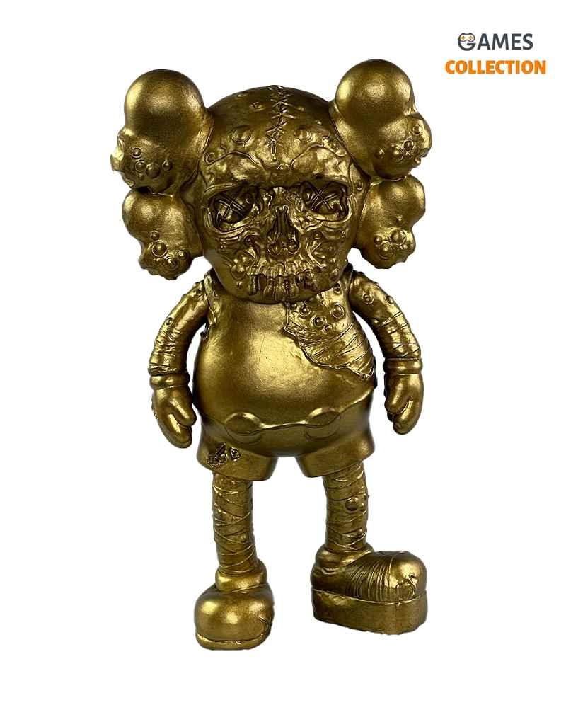KAWS X PUSHEAD COMPANION Gold (25см)-thumb