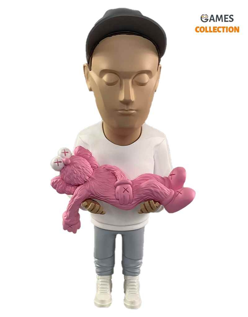 Authors Kaws by Danil YAD (BFF Pink) 30см-thumb