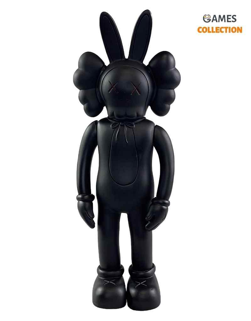 Kaws Jumbo BFF Rabbit Black (30см)-thumb