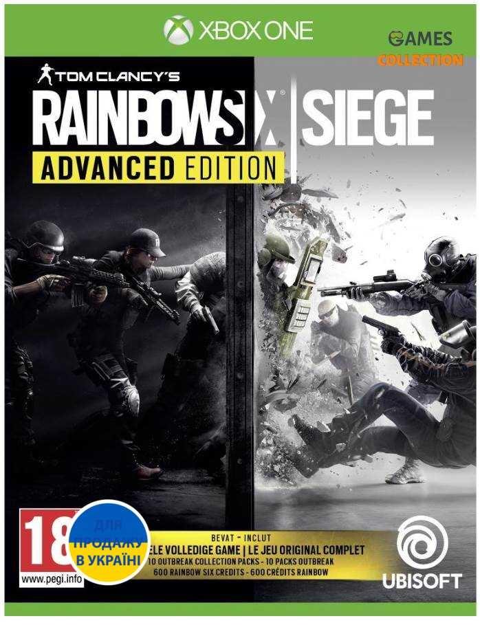 Tom Clancy's Rainbow Six Siege: Advanced Edition (Xbox One)-thumb