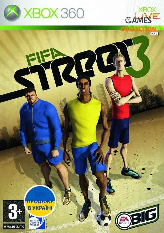 Fifa Street 3 (XBOX360)-thumb