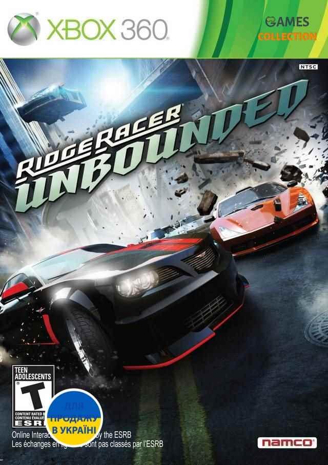 Ridge Racer Unbounded (XBOX360)-thumb