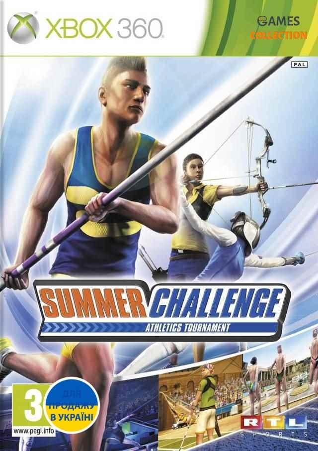 Summer Challenge Athletics Tournament (XBOX360)-thumb