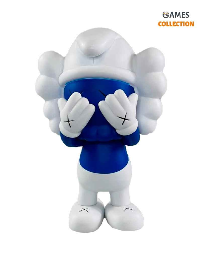 Kaws x The Smurf Companion Blue (21см)-thumb