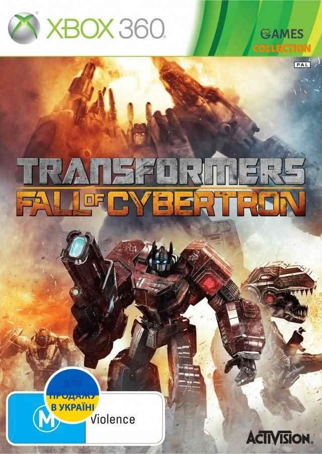 Transformers : Fall of Cybertron (XBOX360)-thumb