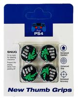Стики для джойстика PS5/PS4 Last of us II Green (Облегающие)-thumb