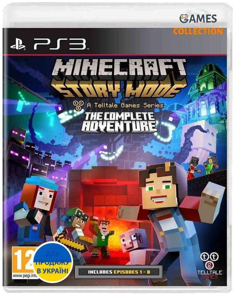Minecraft: Story Mode – The Complete Adventure (PS3)-thumb