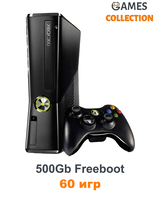 Xbox 360 Slim/E 500Gb Freeboot + 60 Игр-thumb