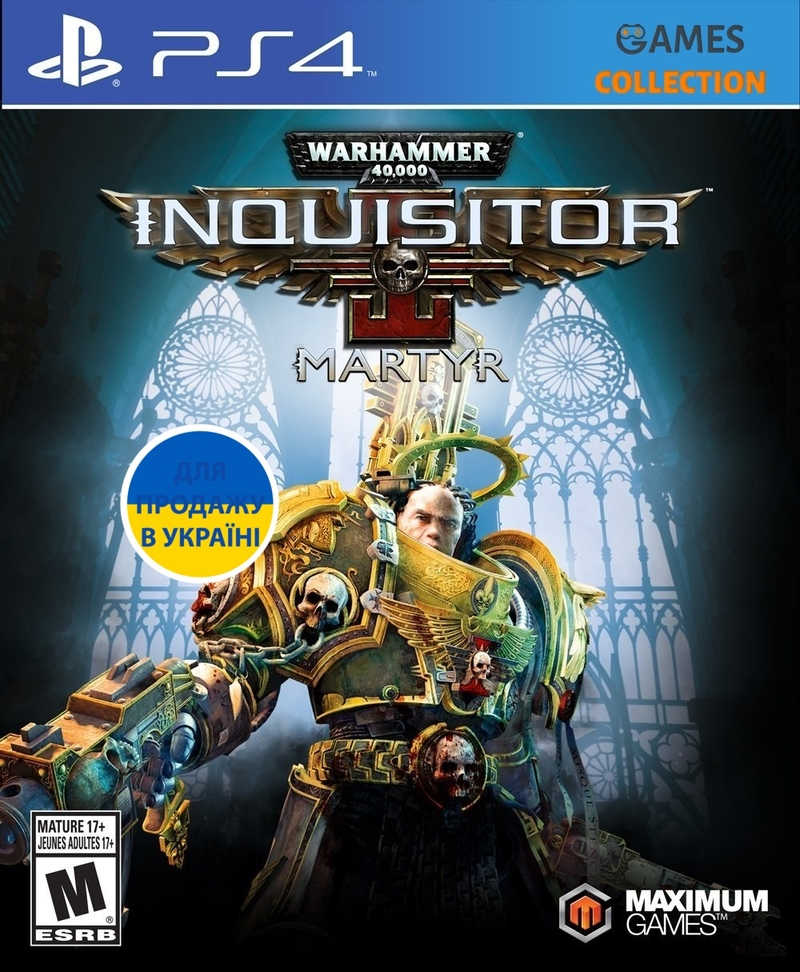 Warhammer 40,000:Inquisitor-Martyr DELUXE EDITION (PS4)-thumb