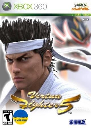 Virtua Fighter 5 (XBOX 360) Б/У-thumb