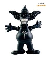 Kaws X Ron English Joker/Krusty Black (30cм)-thumb