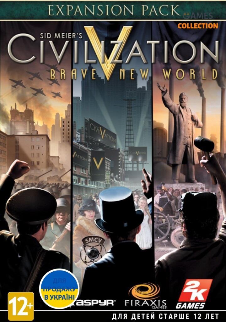 Sid Meier's Civilization V. Дивный новый мир (PC, Jewel)-thumb
