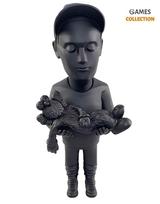 Authors Kaws by Danil YAD (BFF Black) 30см-thumb