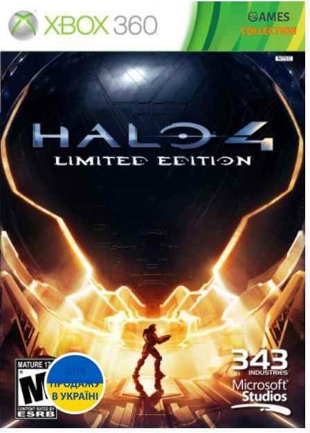Halo 4 Limited Edition (XBOX360) б/у-thumb