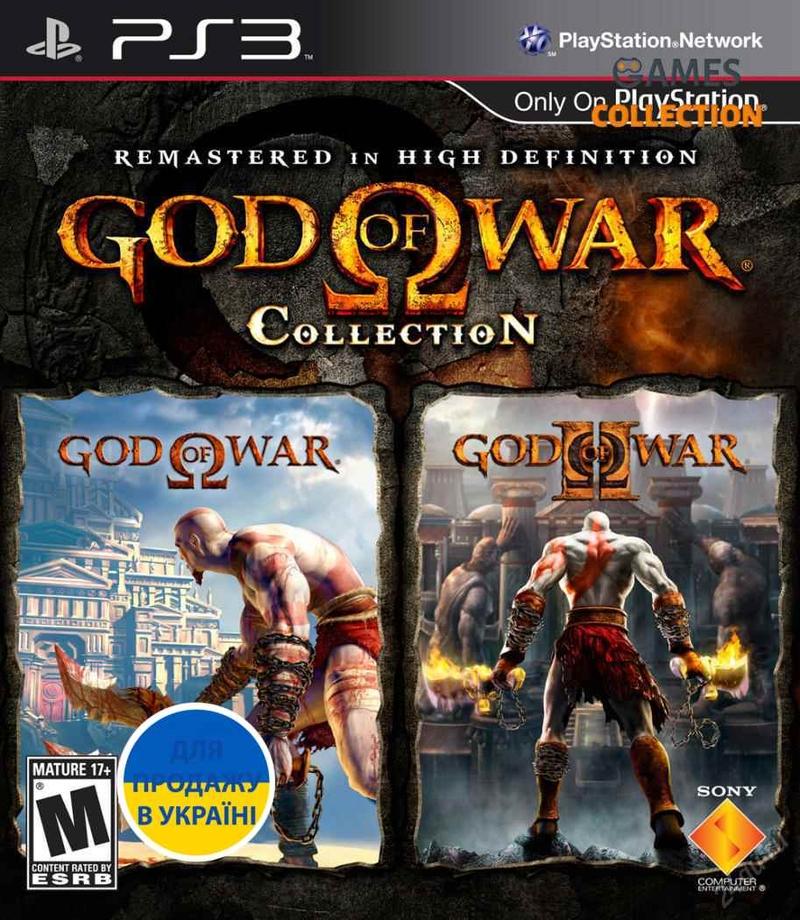 God of War Collection Vol.1 (2 игры в HD) (PS3) Б/У-thumb
