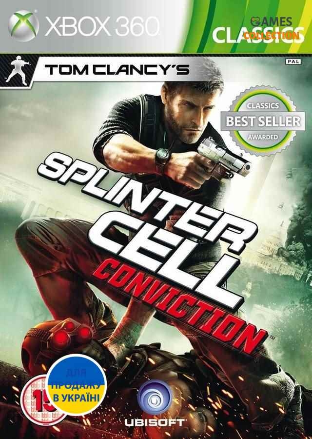 Tom Clancy`s Splinter Cell: Conviction (XBOX360)-thumb