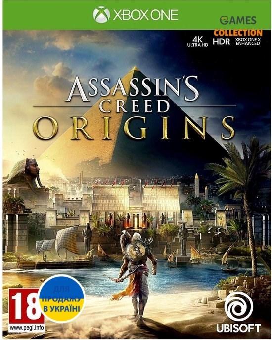 Assassins Creed Origins (Xbox One) Б/У-thumb